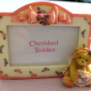 Cherished Teddies picture frame